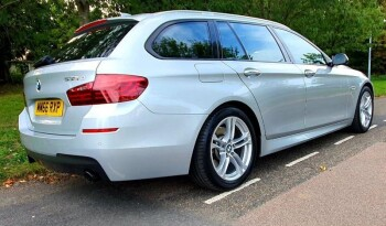 BMW 5 Series 2017 66 reg 3.0 535d M Sport Touring 5dr full