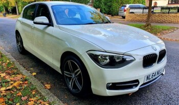 BMW 1 Series 2014 64 reg  2.0 118d Sport Sports Hatch full