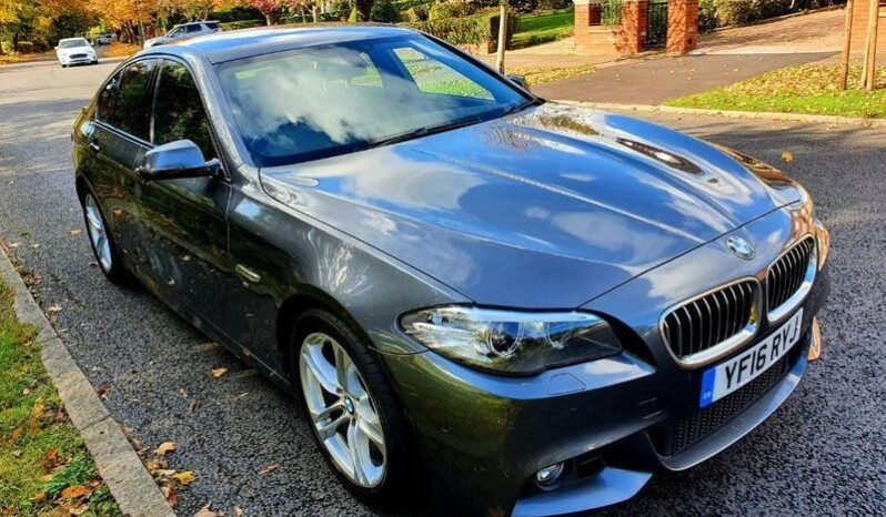 BMW 5 Series 2016 2.0 520d M Sport 4dr full
