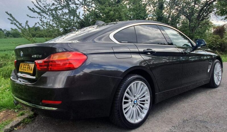 BMW 4 Series Gran Coupe 2015  3.0 430d Luxury Gran Coupe Auto xDrive full