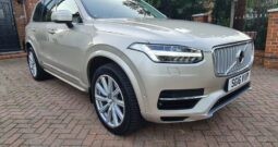 Volvo XC90 2016 2.0h T8 Twin Engine 9.2kWh Inscription Geartronic 4WD